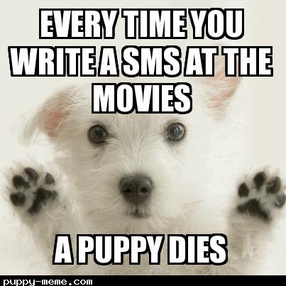 sms at movies