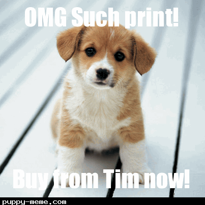 Print puppy