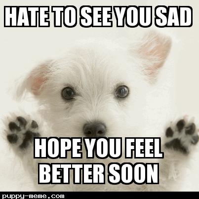the gallery for gt hope you feel better meme