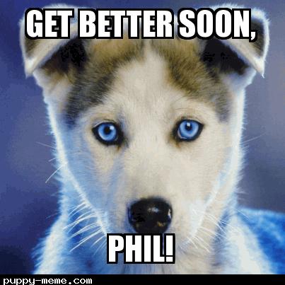 Get well dog