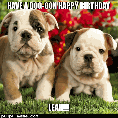 Leah birthday