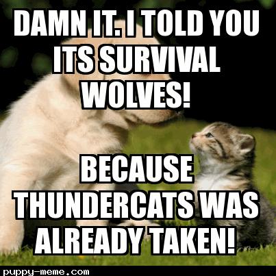 Survivor wolves