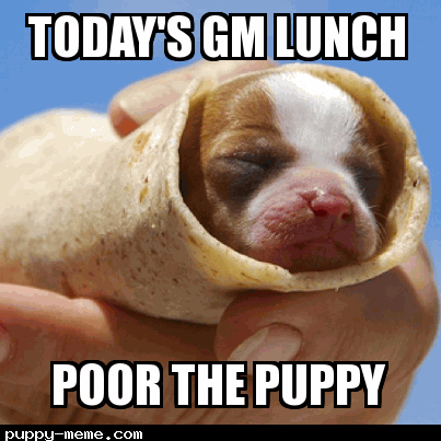 Today's GM Lunch