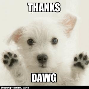 thanks§