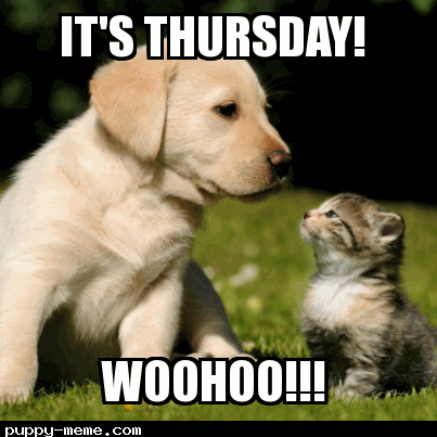 It's Thursday!