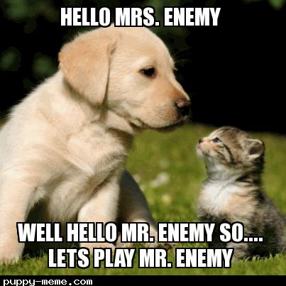 enemy conversation