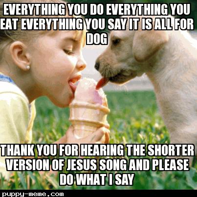 shorter version of Jesus dog song